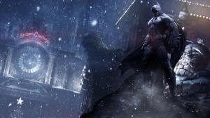 Batman é uma das atrações do estande da Warner.