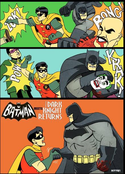 O verdadeiro Dark Knight