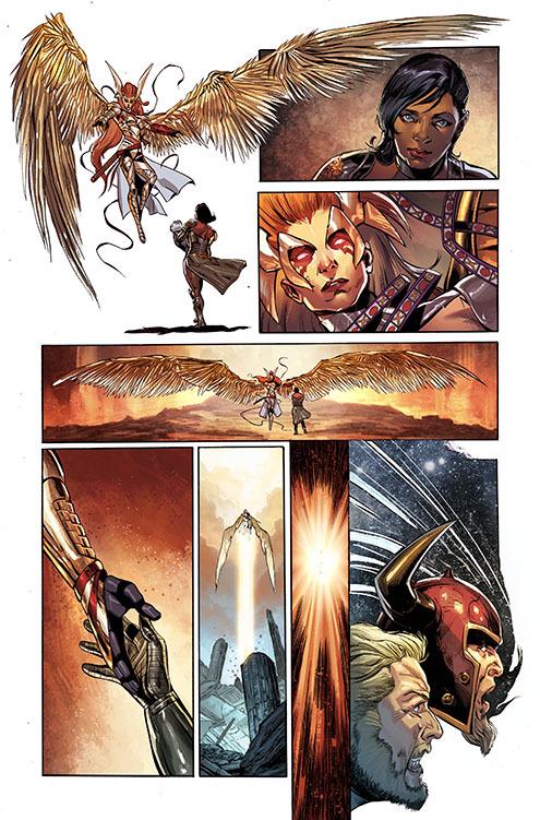 Créditos: Marvel Comics Asgard assassinos # 3